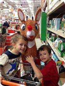 Home Depot Rudolph