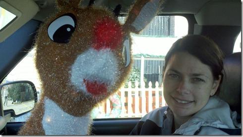 Rudolph in Truck